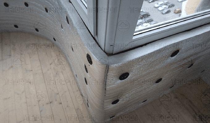 Утепление балкона Спб цена