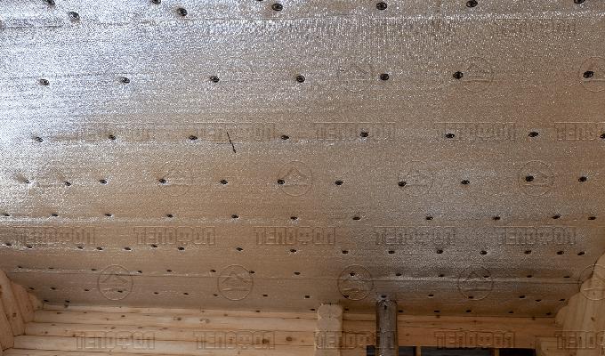 Утепление дома внутри Тепофол фото