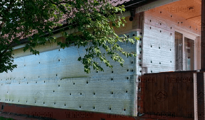 Утепление фасада Тепофол цена